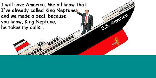Trump - Sinking Ship