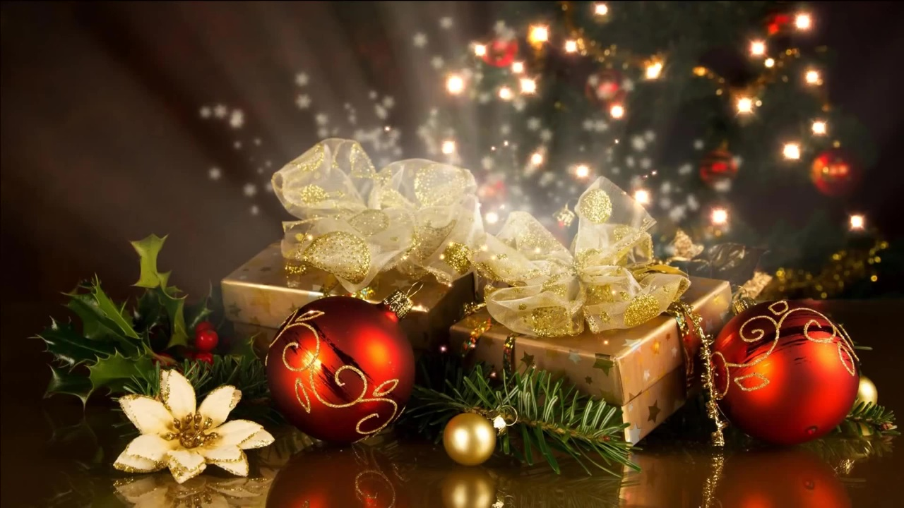 video-christmas-background