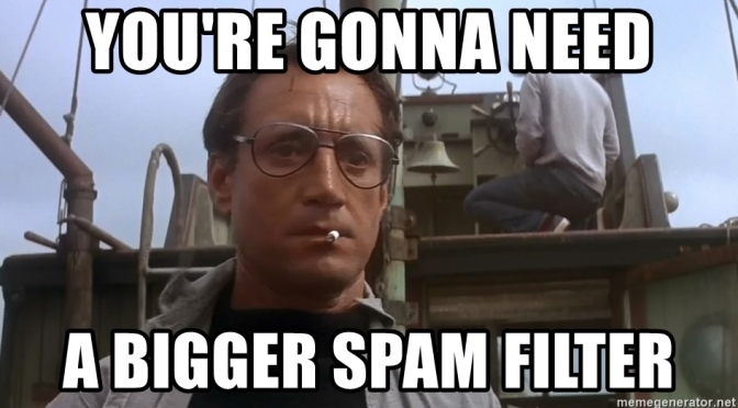 Nasty spam.