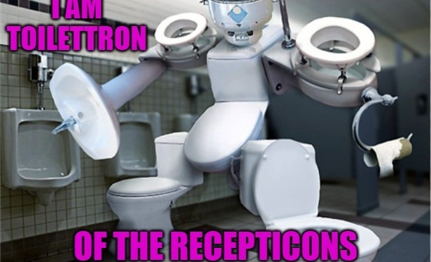 Raise your hand if you want a robot in your toilet.