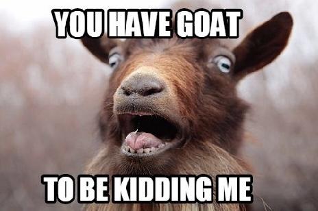 The Screaming Goat quiz